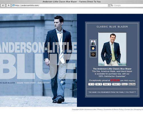 Anderson Little Classic Blazer web site