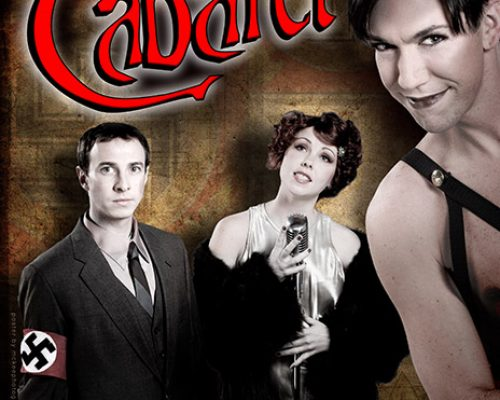 Cabaret Poster for Wellesely Players
