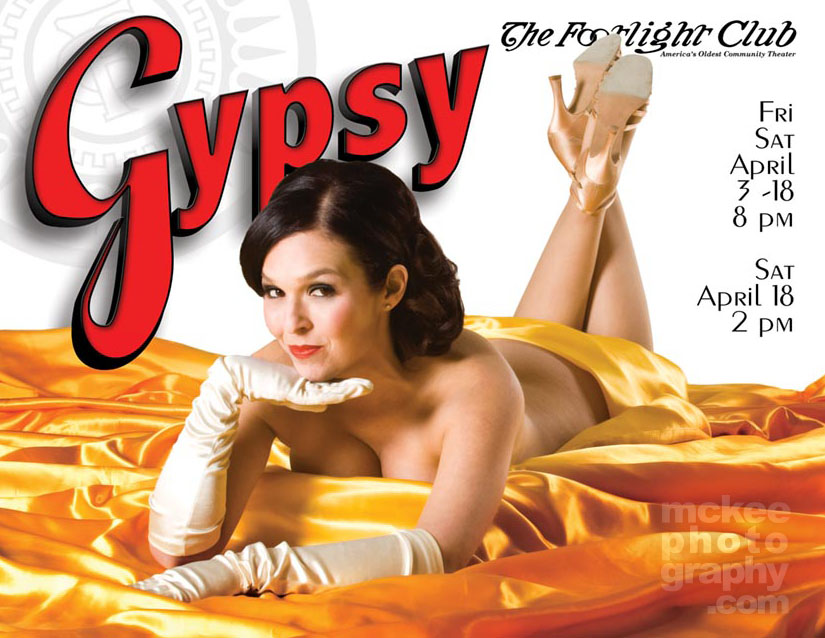 Gypsy Postcard, Johanna Perri as Gypsy Rose Lee