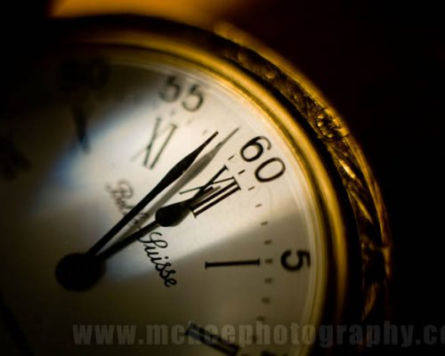 Time is 2 minutes to midnight