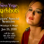The New Year Special - Dark Portrait Headshot to get you attention!