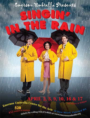 Singing in the Rain – Emerson Umbrella