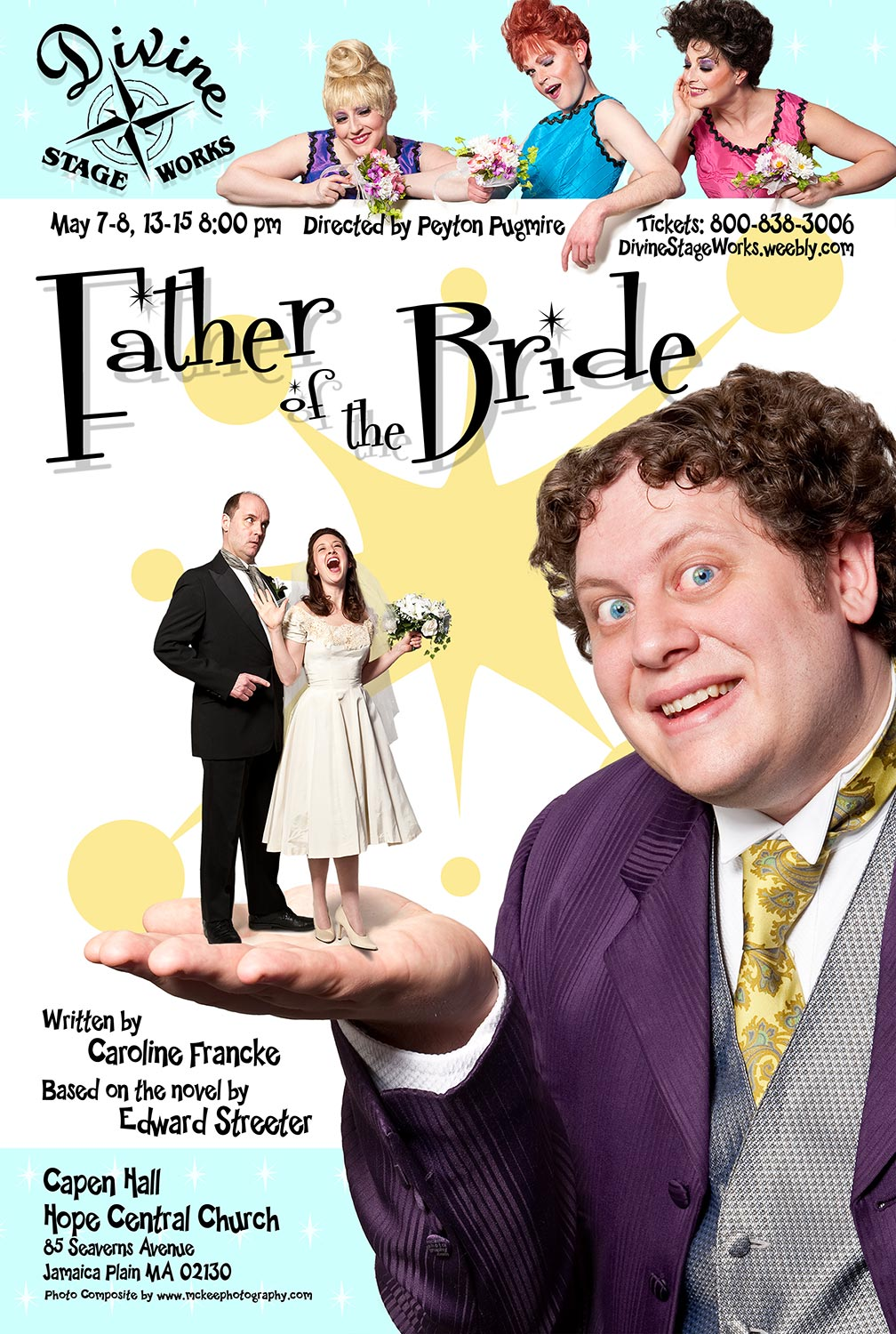 Father of the Bride Play Poster