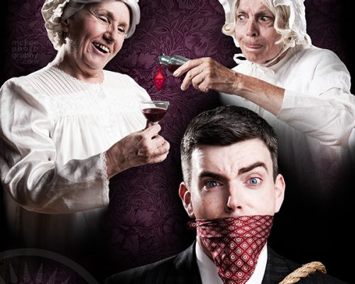 Arsenic and Old Lace Photo Manipulation Poster