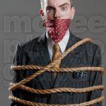 Tied up Man