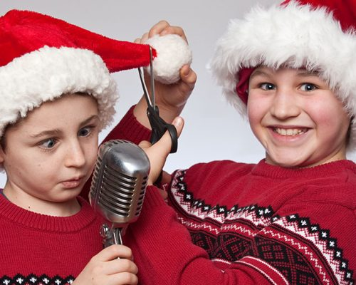 Rocketboy and Gears Sing The Christmas Hits
