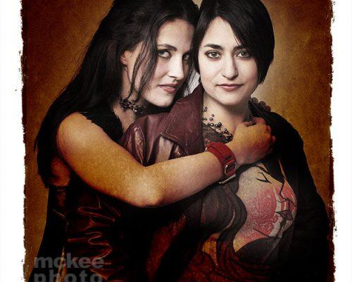 Shira and Annie by Matt McKee Photography