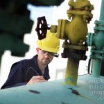 Micro Optical Visual Device testing for stress cracks in vessel