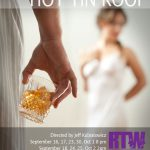 cat on a hot tin roof Poster for RTW Boston production