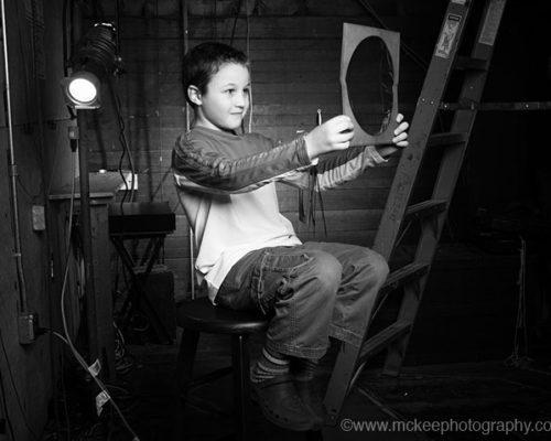 Footlights Portrait