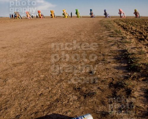Cadillac Ranch Stock Photo 1