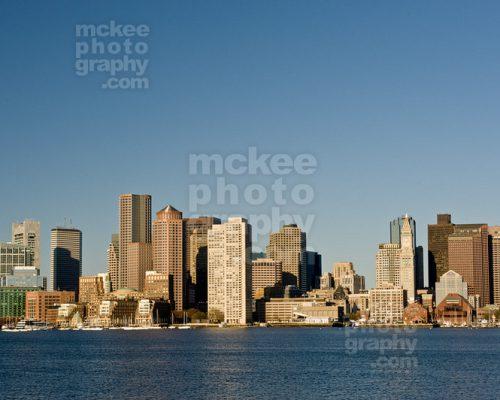 Boston Scenic Skyline from Charlestown