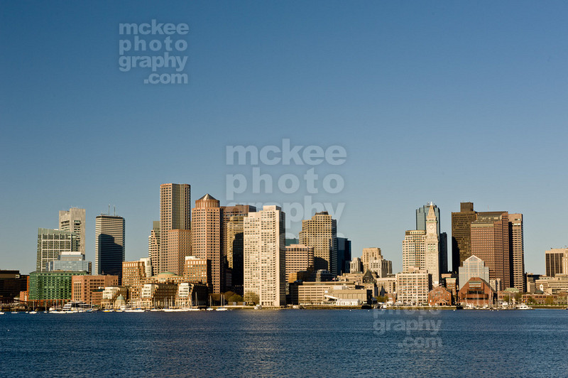 Boston Scenic Skyline from Charlestown