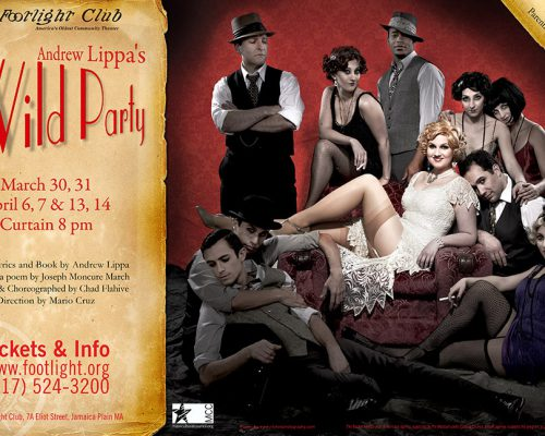 The Cast of Wild Party at the Footlight Club