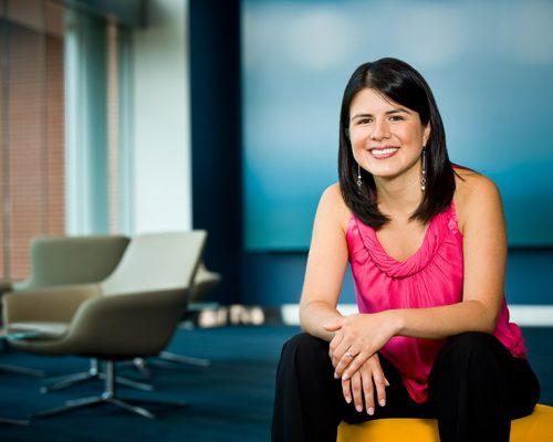 Silvia, photographed for The Simon Graduate School of Business