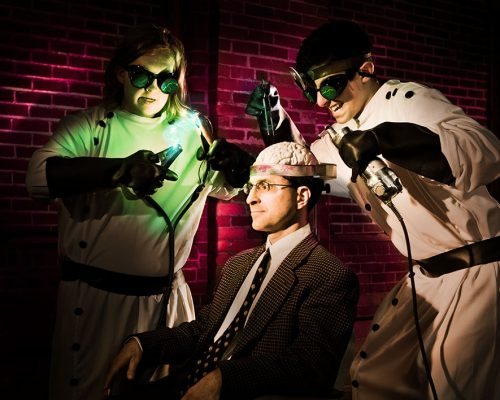 The Halloween Themed Brain Cramp, featuring Mikey,  Jack and Kevin, looking deep into the inner workings of the mind!