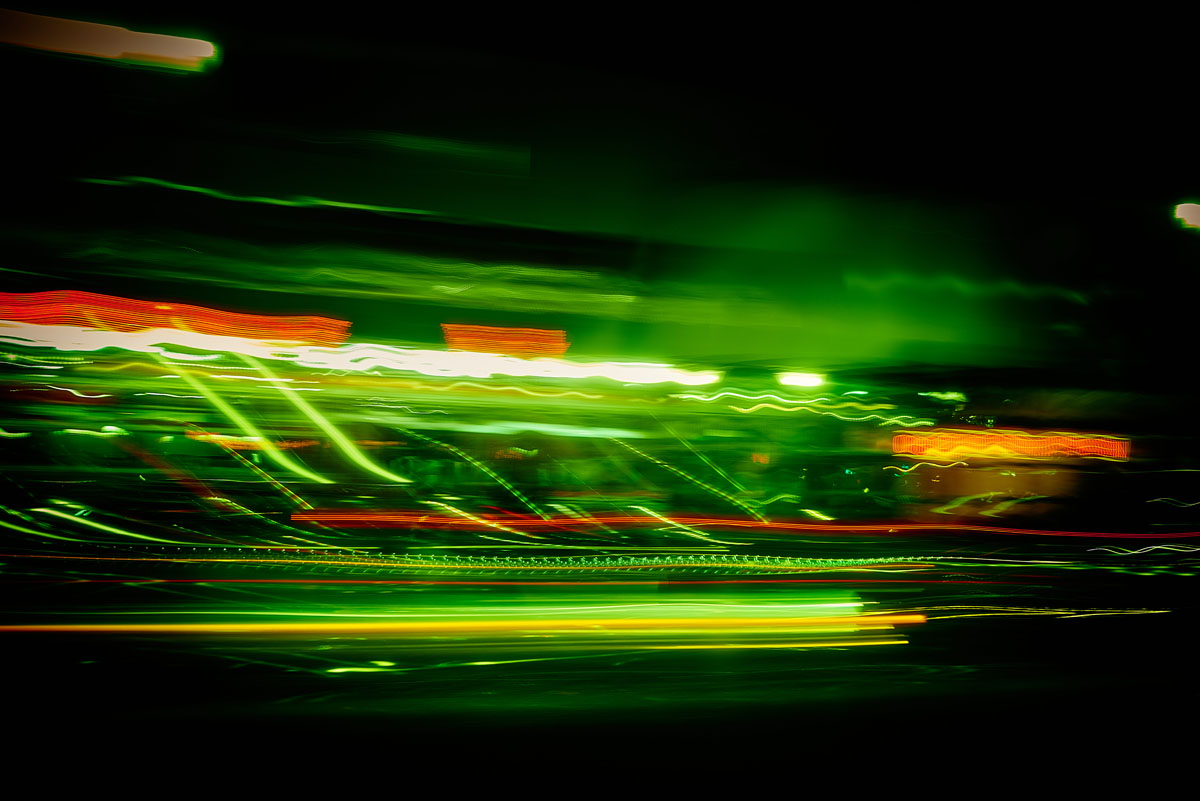 Comm Before, Night Light, Boston. Series by Matt McKee.