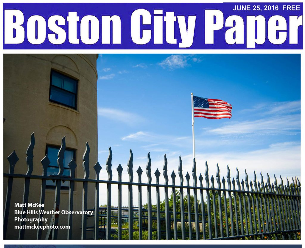 Boston City Paper June 25 Cover photography