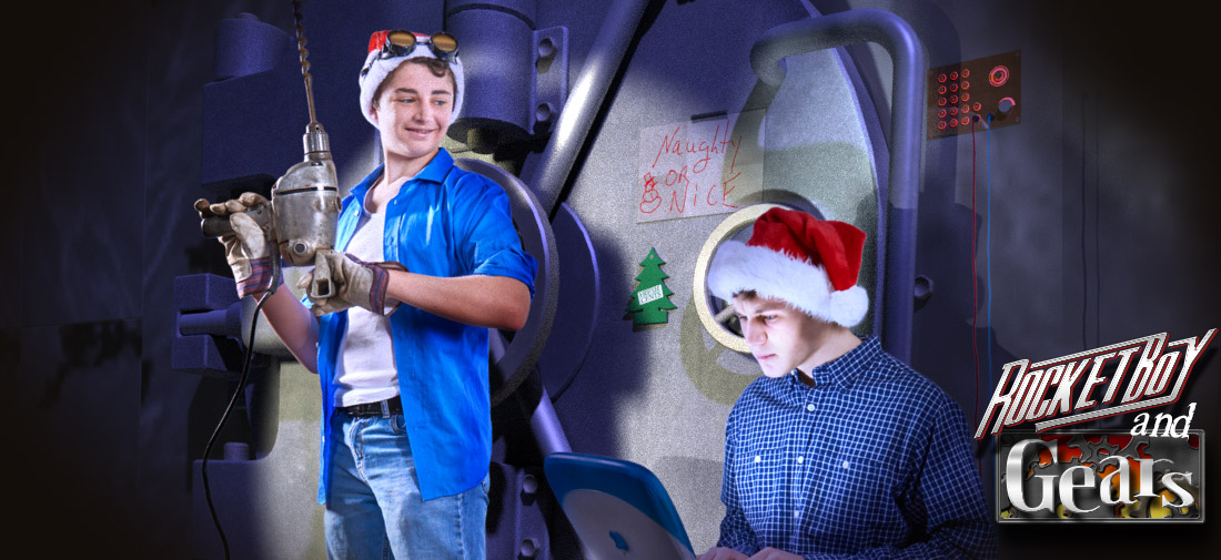 Cracking the Christmas Caper, A Rocketboy and Gears Adventure