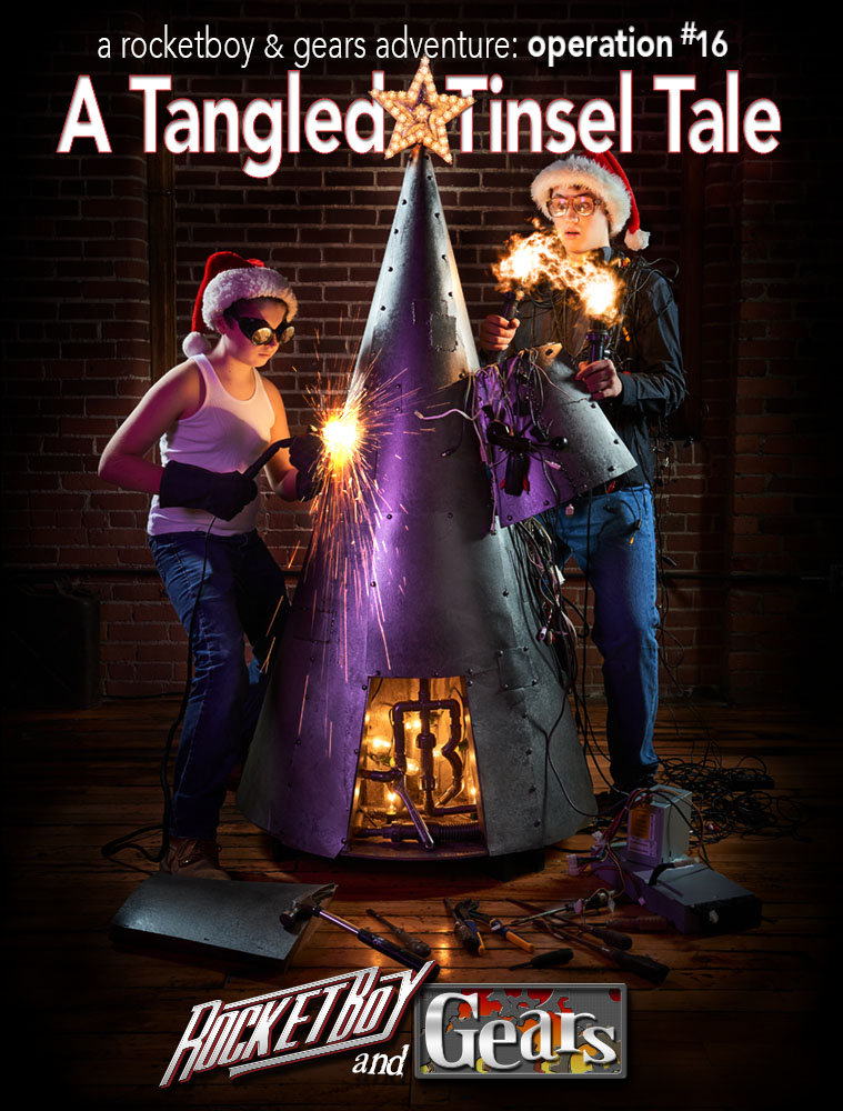 A Tangled Tinsel Tale from Rocket Boy and Gears
