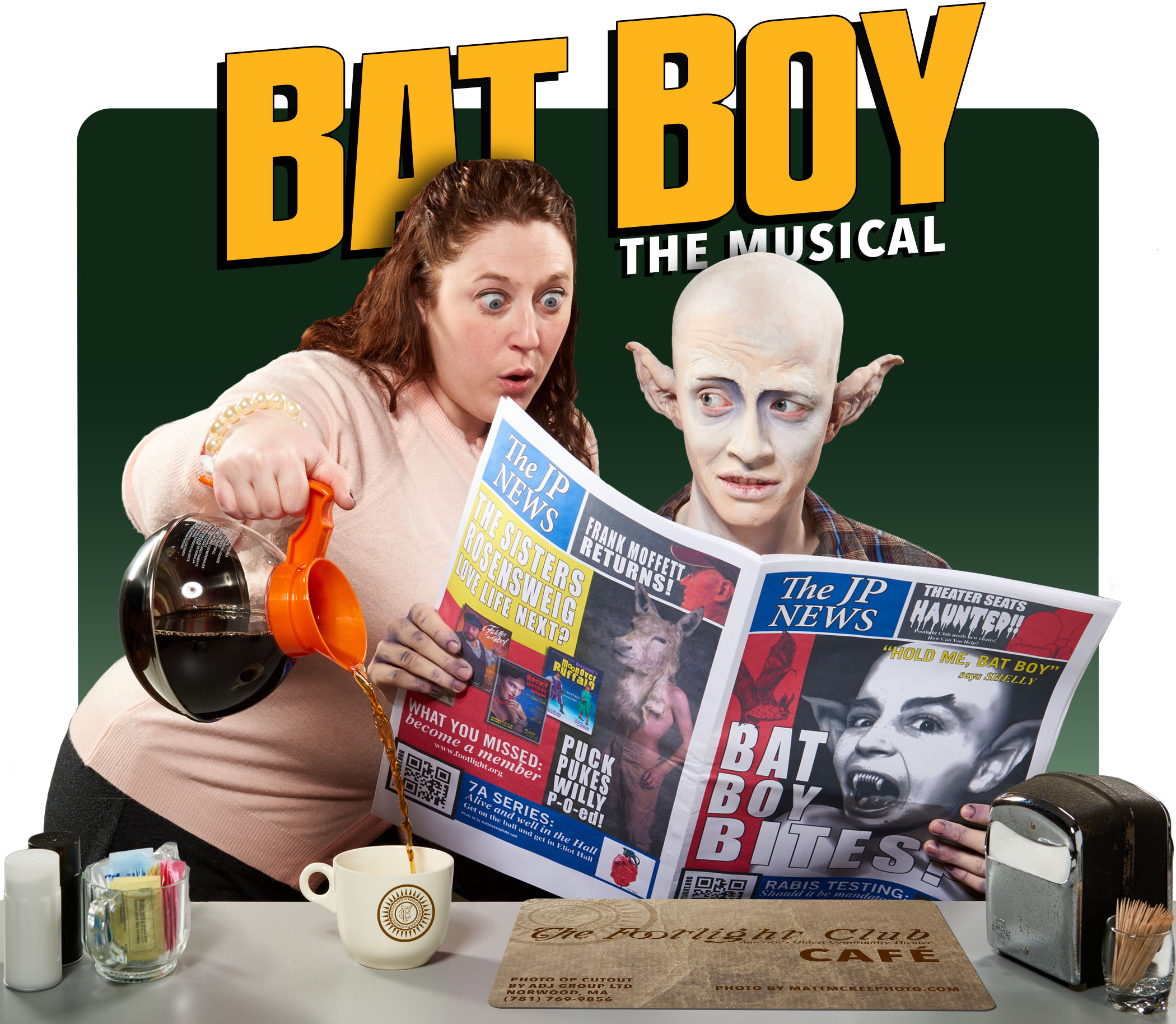 Bat Boy The Musical – Behind the Scenes on the Poster Shoot
