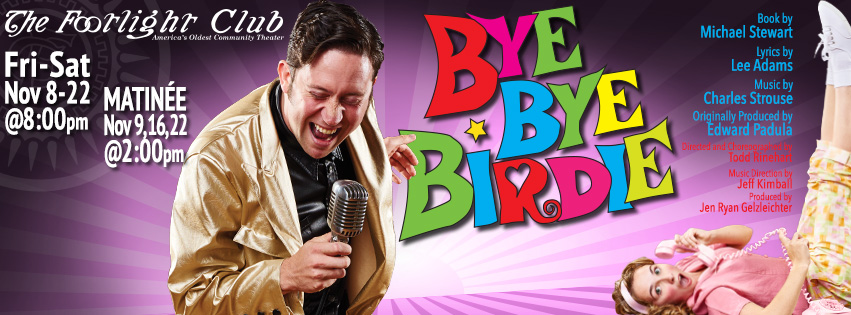 Bye Bye Birdie, Footlight Club poster by MattMcKeePhoto.com