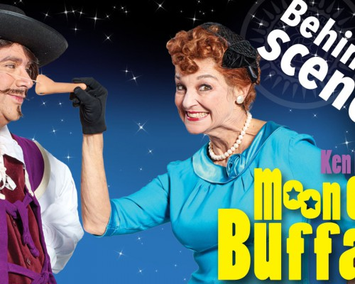 Moon Over Buffalo Poster behind the scenes