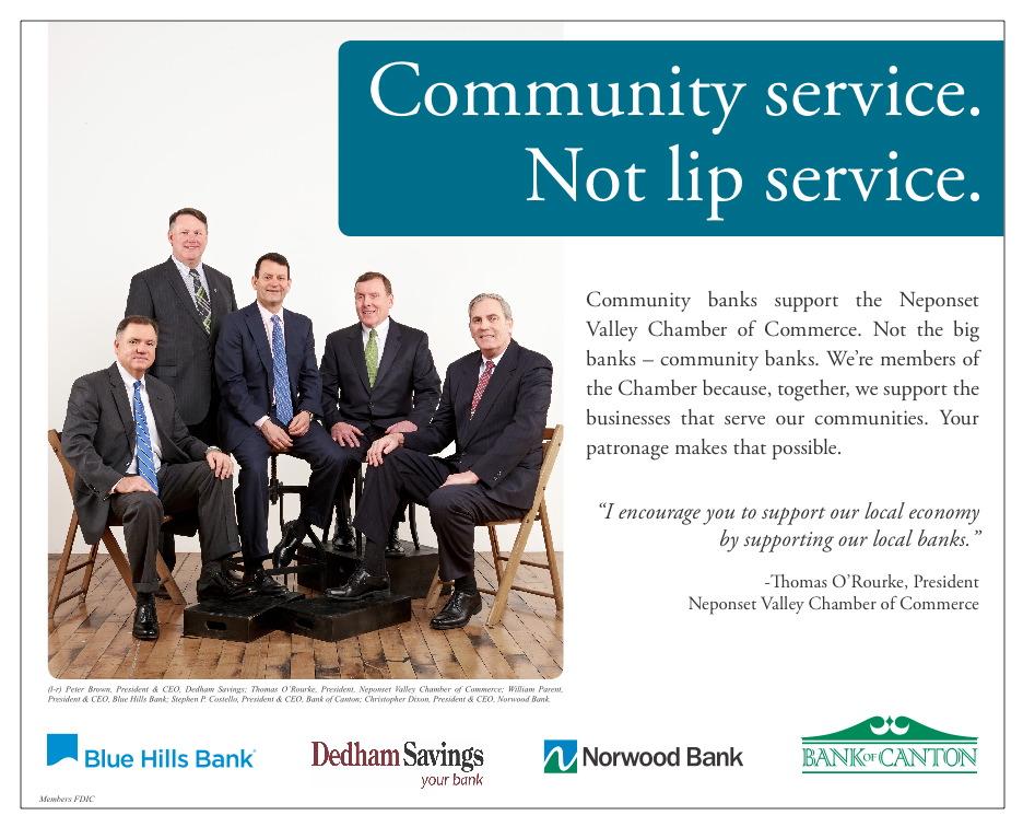 Community service bank presidents
