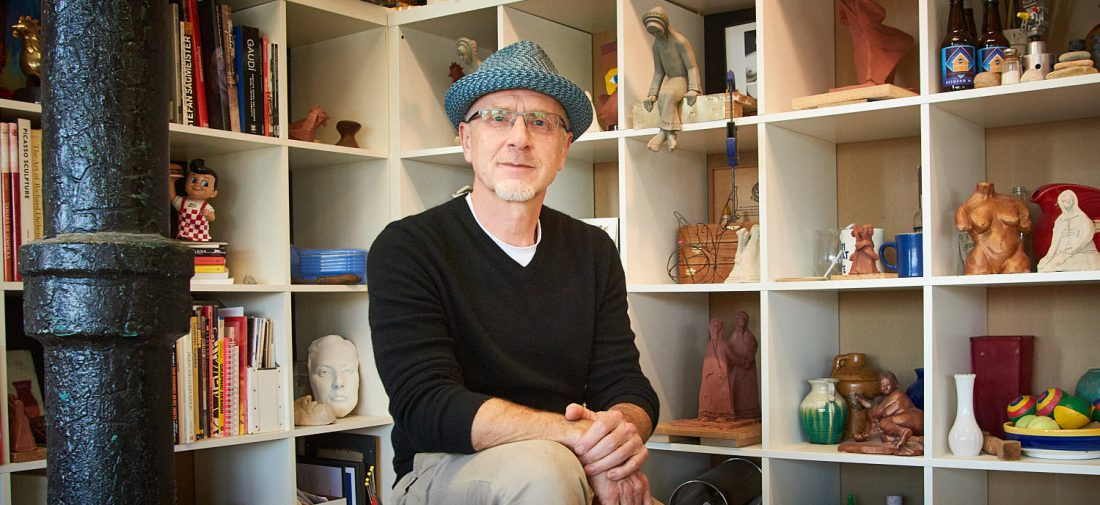 Editorial Style Story Telling: Portrait of An Artist Studio