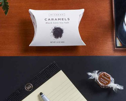 McCreas Caramel Product Photography