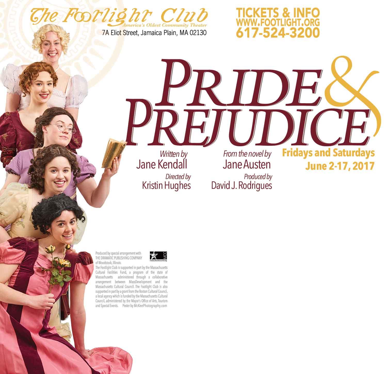 Pride and Prejudice Play Postcard