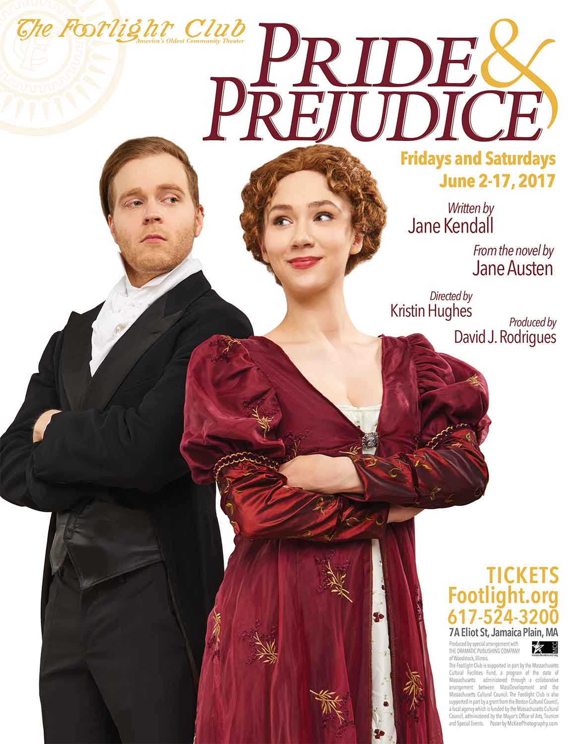 Pride and Prejudice Play Poster