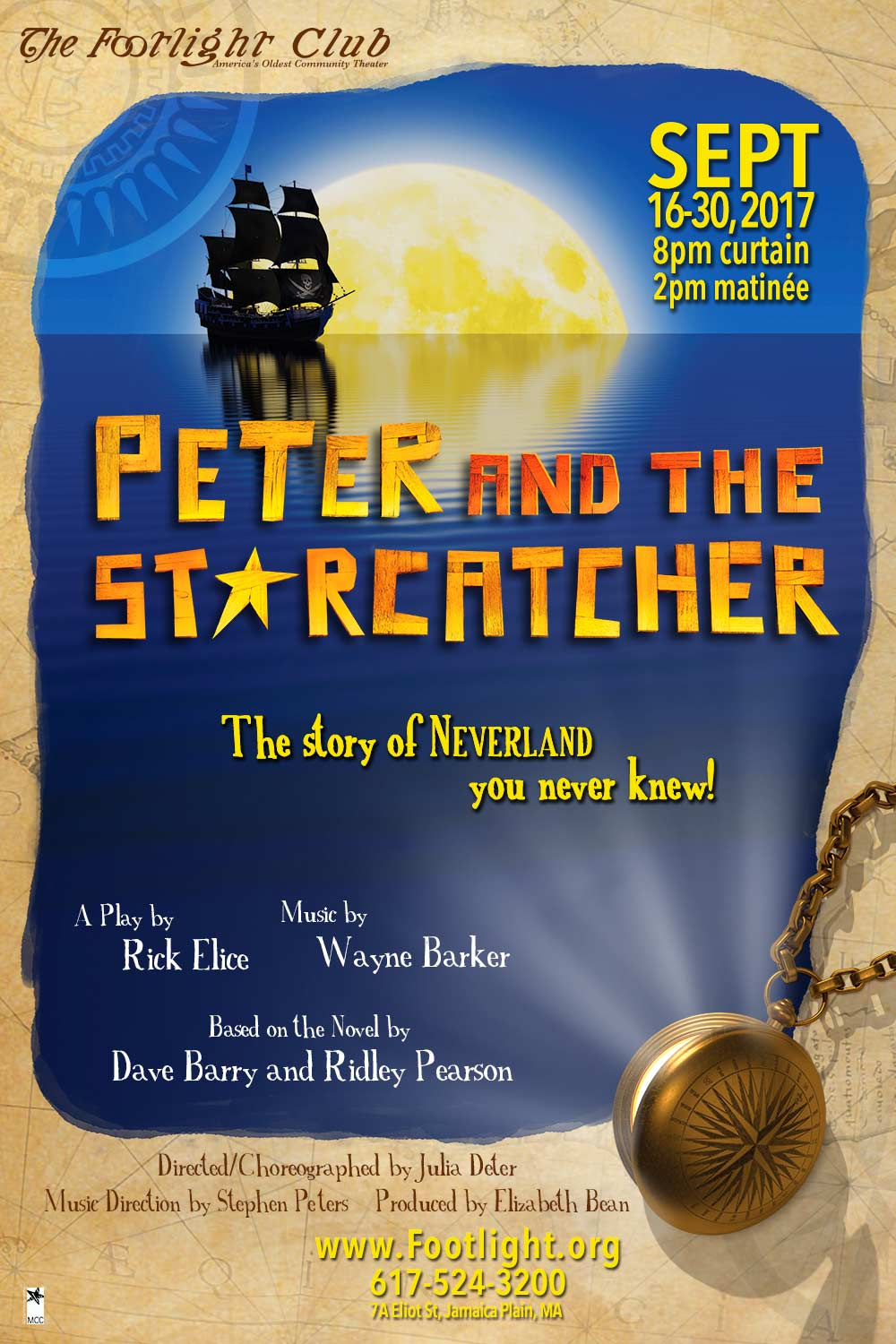 Peter and The Starcatcher, at the Footlight Club