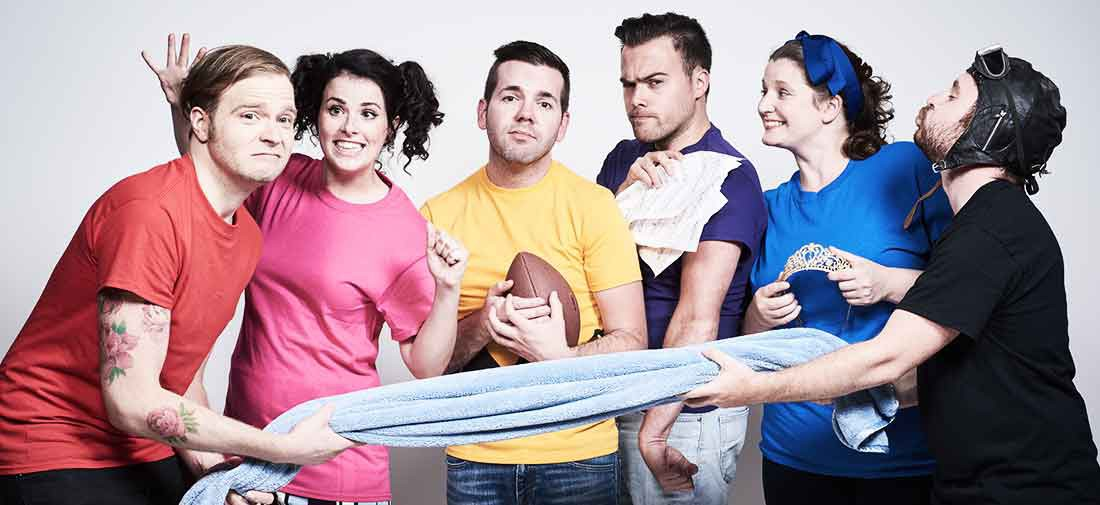 The Cast of Your a Good Man Charlie Brown at The Footlight Club