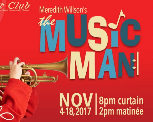 Nathan as Winthrop for The Music Man Poster