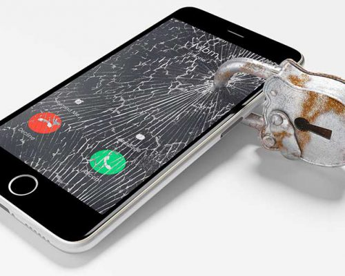 Smart Phone Locked