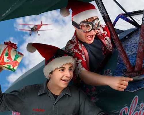Just Dropping in! The Photo Studio Christmas Card