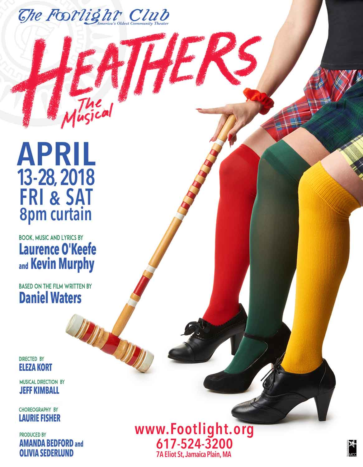 Heathers The Musical at Footlight.org Poster by McKeePhotography.com