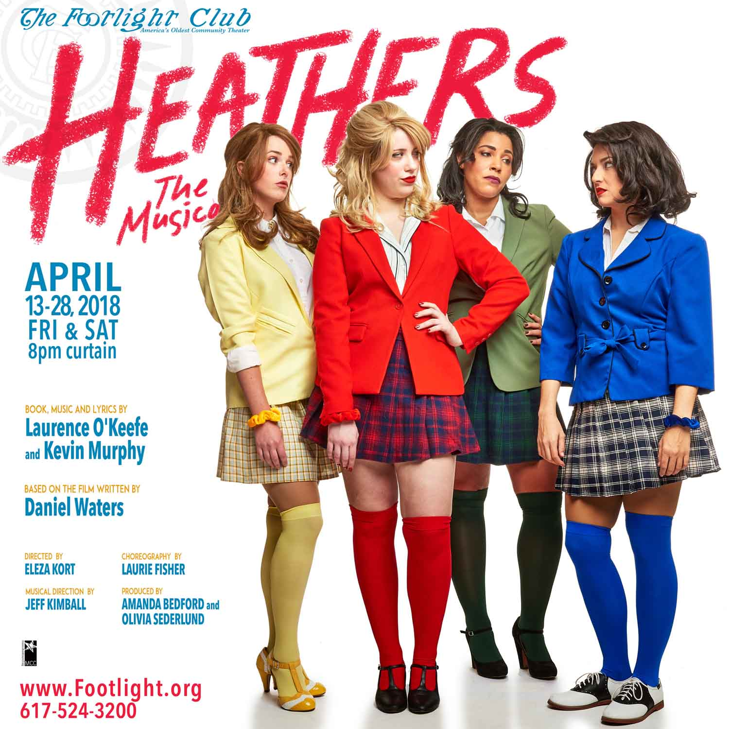 Heathers, The Musical at The Footlight Club