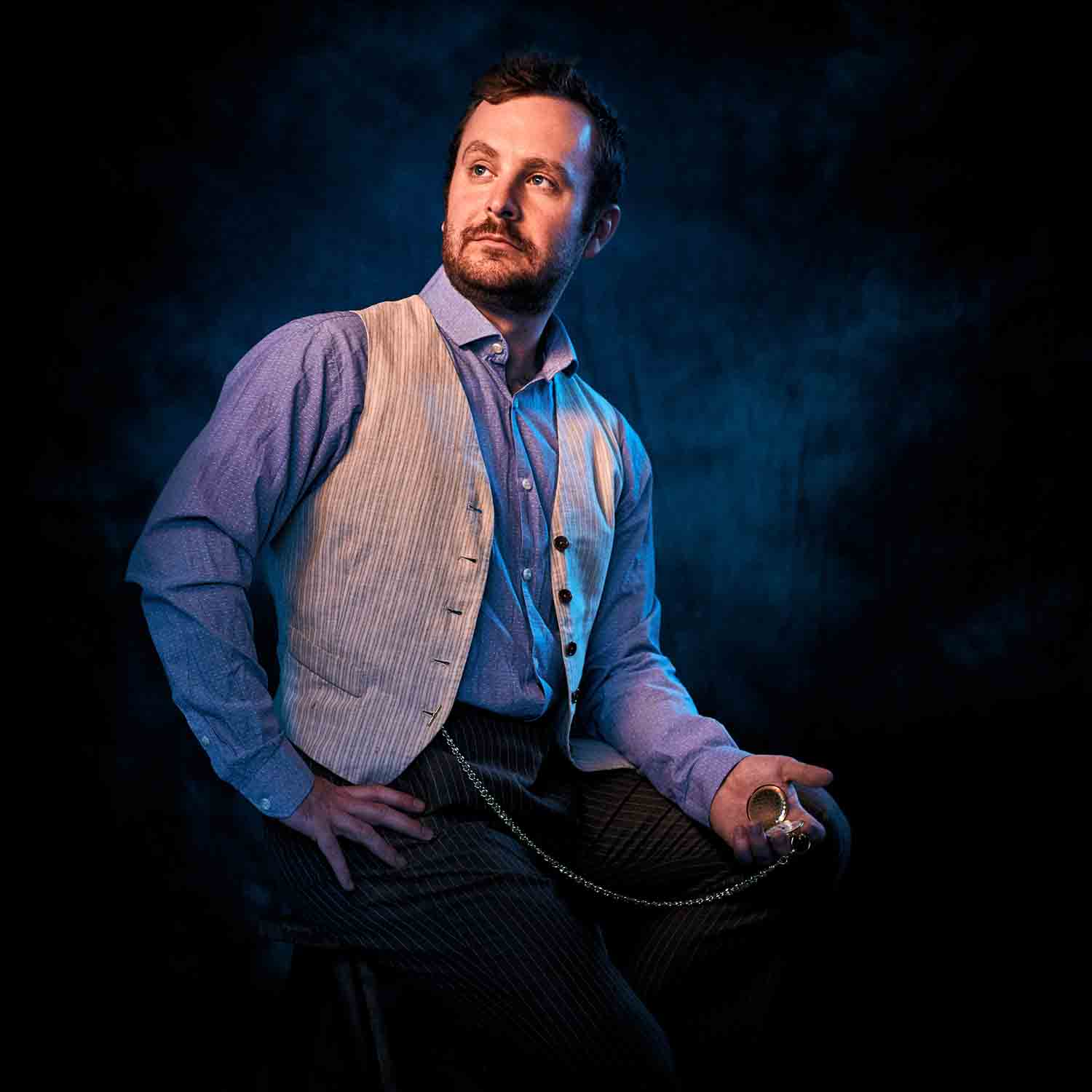 Jeff Mitchell as Stage Manager in Footlight Club's production of Our Town