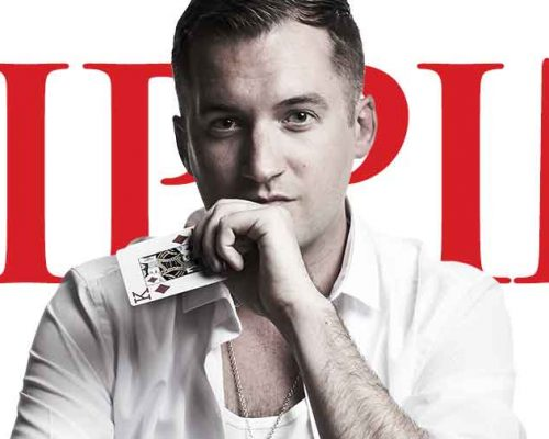 Kevin Hanley on Pippin's Poster for theater marketing campaign