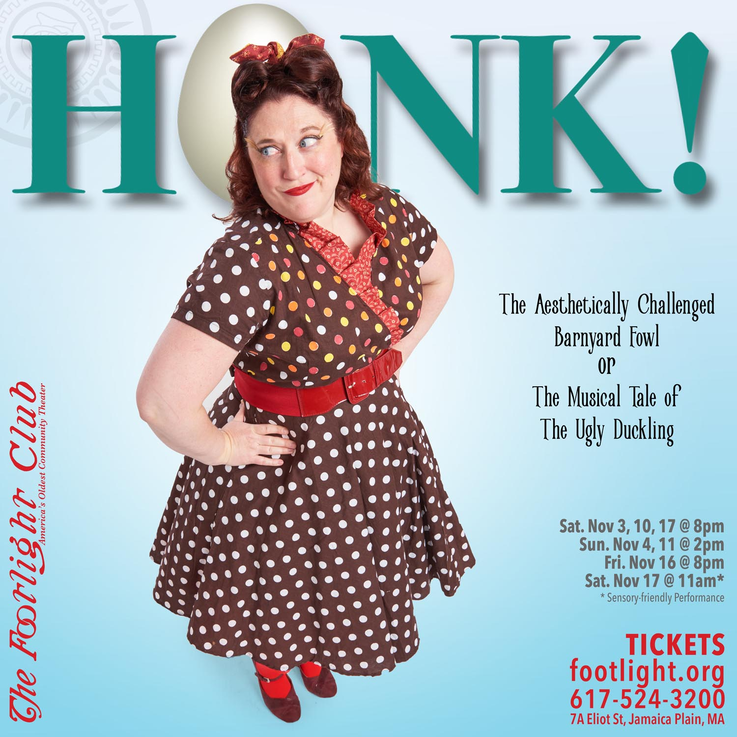 The Marvelous Liz Bean in Honk The Musical