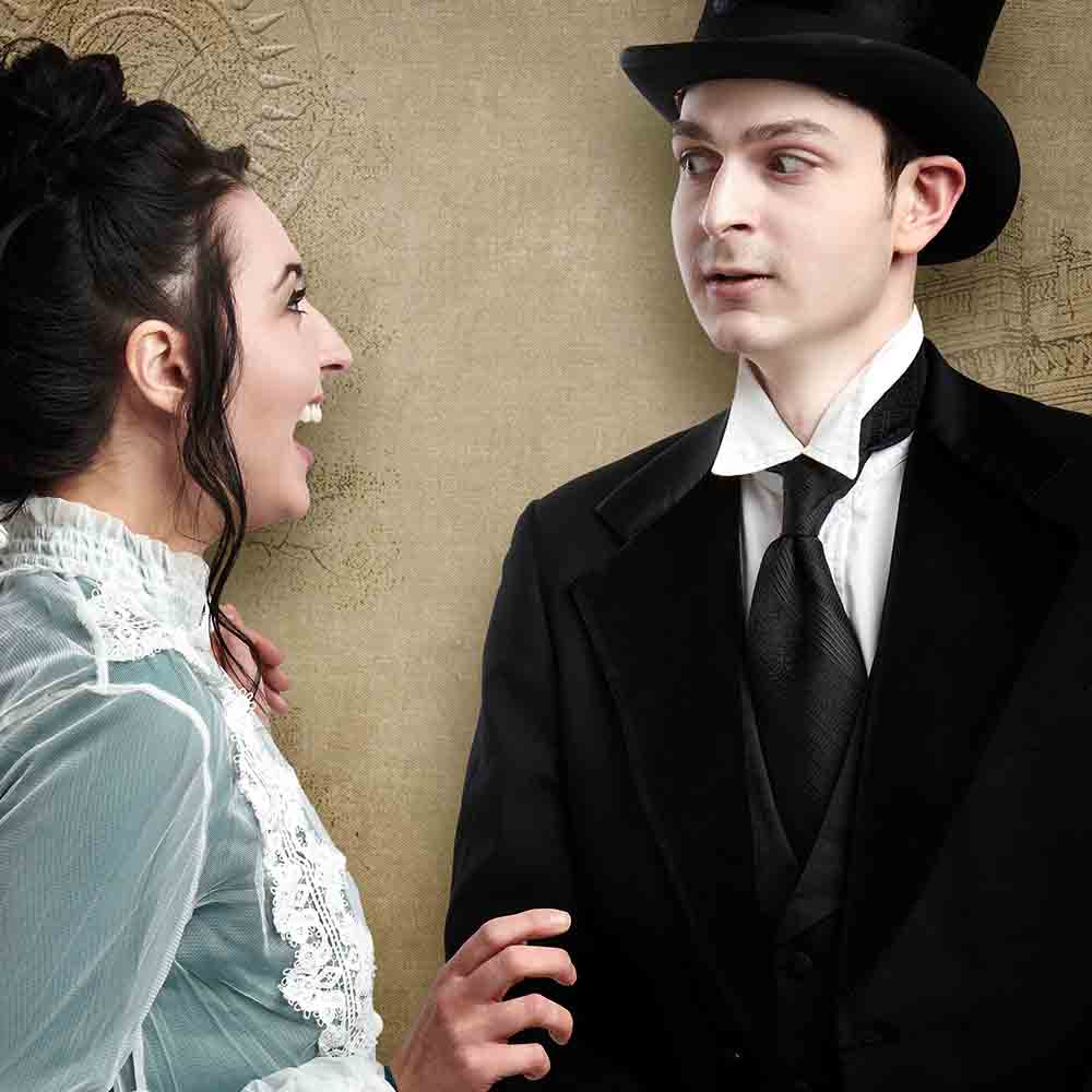Character portrait of Elizabeth Loranth and Michael Jay