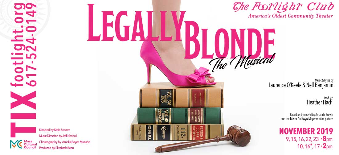 Legally Blonde Photo Shoot for Poster and Social Media