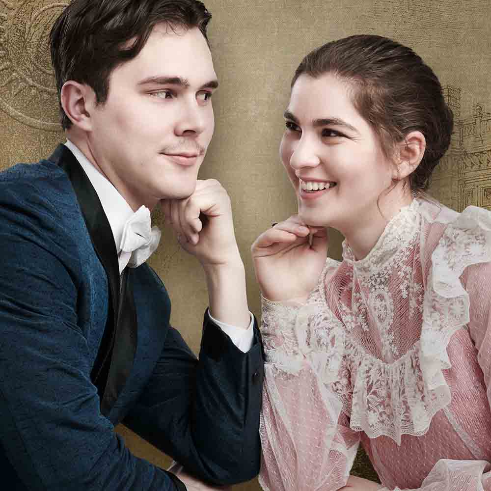 Character portrait of Bradley Boutcher and Gabrielle Jaques