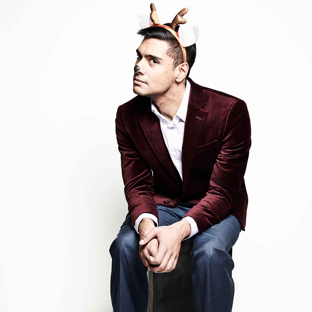 Akshat Sharma in The 8: The Reindeer Monologues
