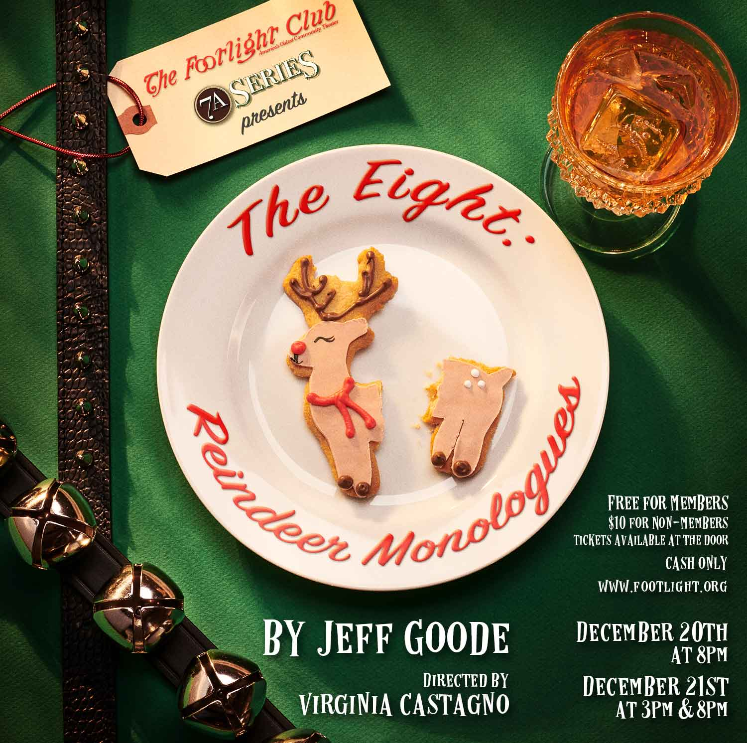 The Eight: Reindeer Monologues Poster Photography