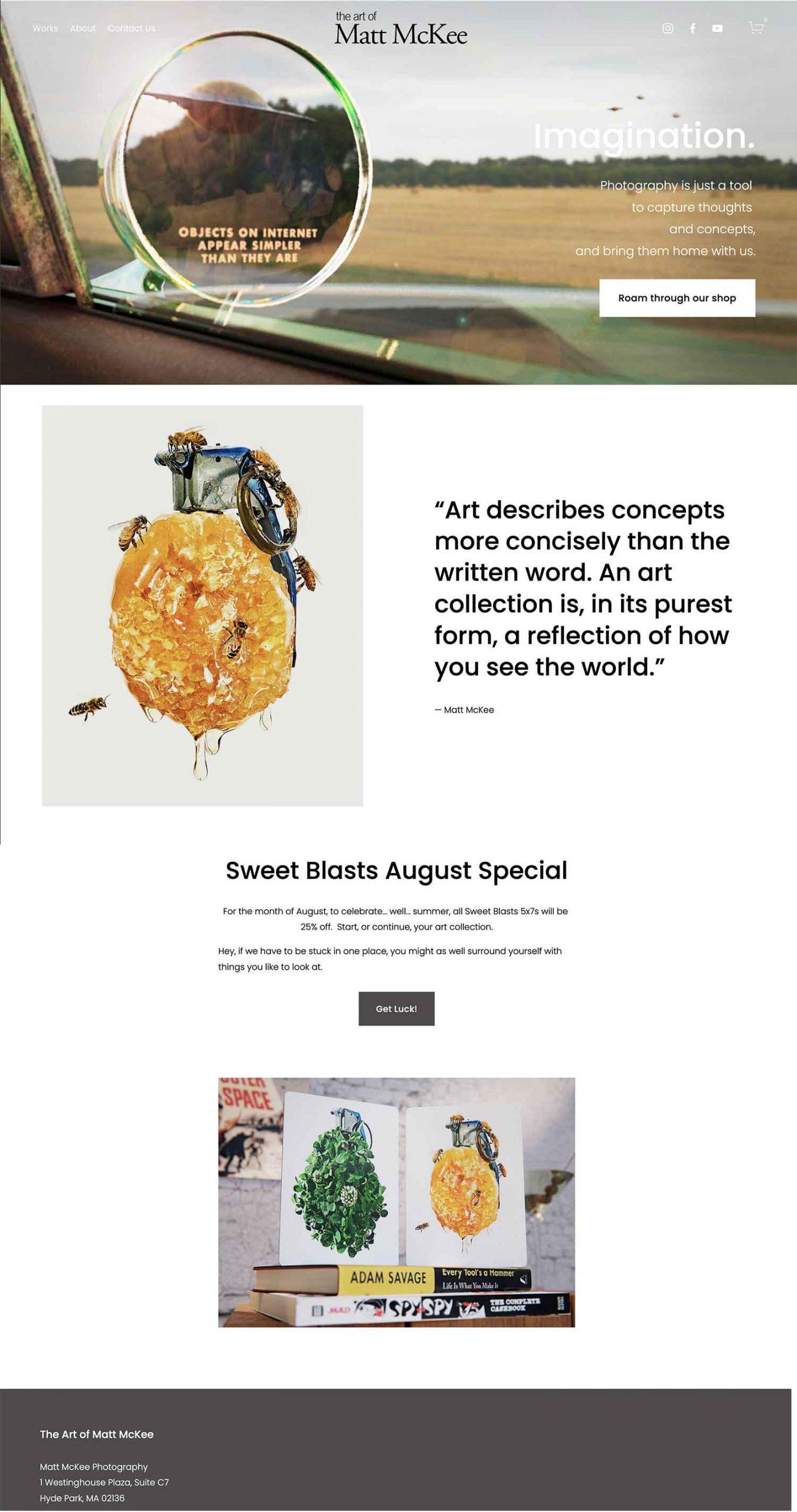 The Art of Matt McKee Web site