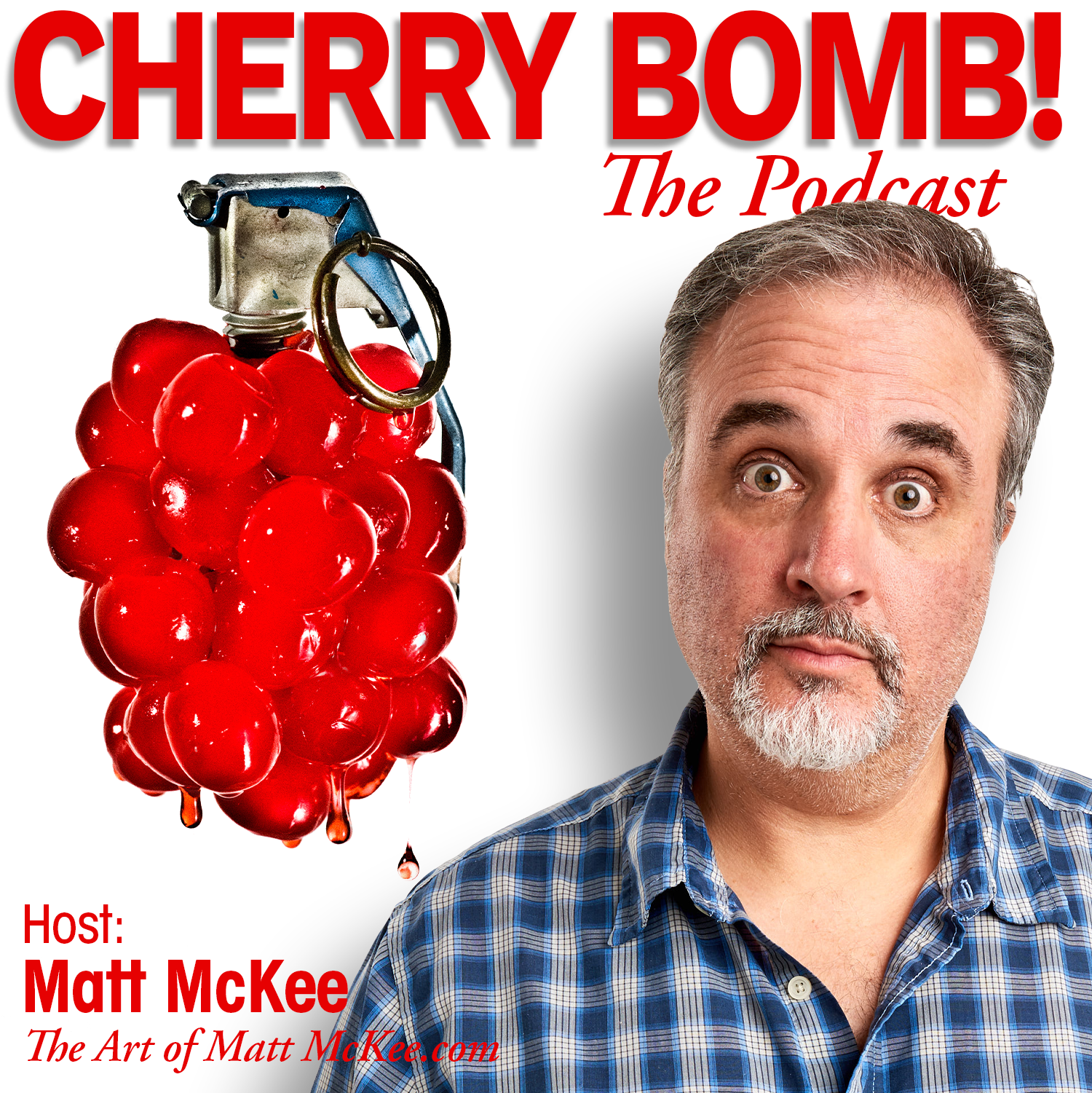 Your humble host of Cherry Bomb! The Podcast