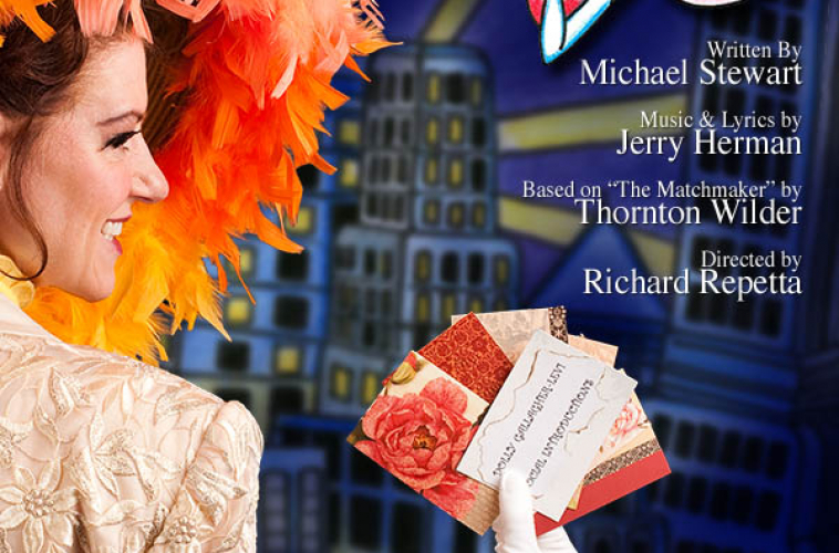 Digital Composite on Poster and Collateral for Hello Dolly